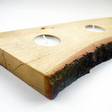 Log Tea Light Candle Holder