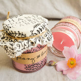 Hand Poured Candle 'Peony & Bergamot' by Anna Palamar Designs