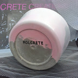 Pink Concrete Plant Pot by Molcrete