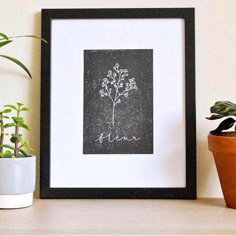 'Fleur' Art Print by The Delightfully Chaotic Company