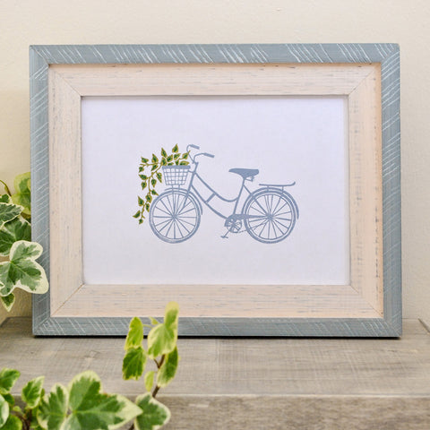 Bicycle Print by The Delightfully Chaotic Company