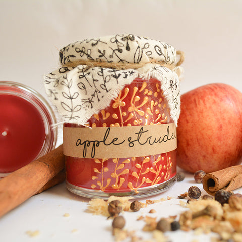 Hand Poured Candle 'Apple Strudel & Spice' by Anna Palamar Designs