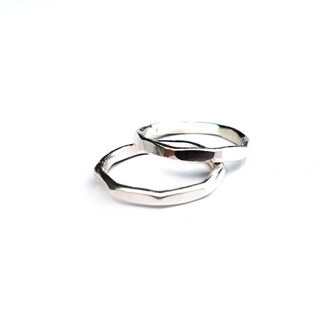Plain Multi-Sided Stacking Ring