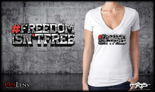 Freedom Isn't Free Ladies V-Neck
