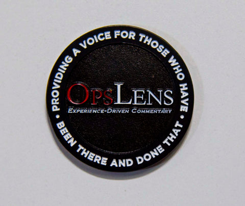Official OpsLens Challenge Coin
