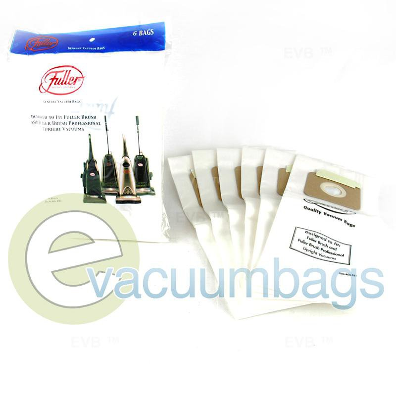 Fuller Brush Fuller Brush Professional Upright Paper Vacuum Bags 6 Pack  06.181 09-2418-09