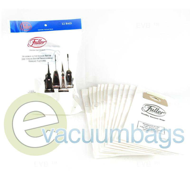 Fuller Brush Fuller Brush Professional Upright Paper Vacuum Bags 12 Pack  06.163 09-2422-01