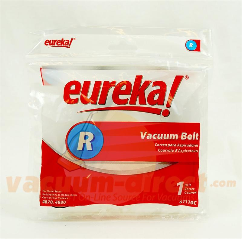 Eureka Type R Upright Vacuum Belt 2 pack Genuine Eureka Parts 21-3118-03