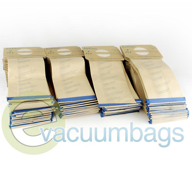 Electrolux Style U 4-Ply Paper Vacuum Bags by EnviroCare, 100 Pack #138FPC