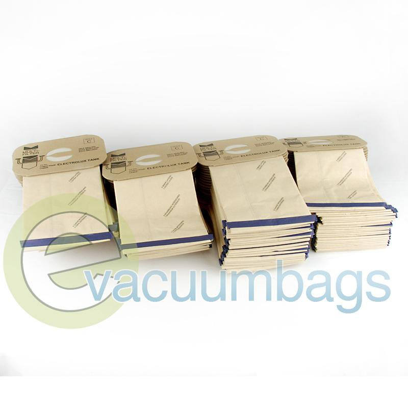 Electrolux Style C 4-Ply Canister Paper Vacuum Bags by DVC 100 Pack  410829 EXR-1415