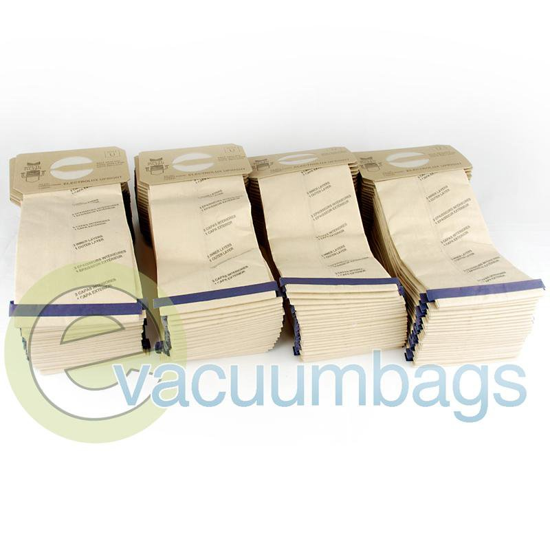 Electrolux Style U Discovery Upright Paper Vacuum Bags by DVC Generic 100 Pack  425311 EXR-1452