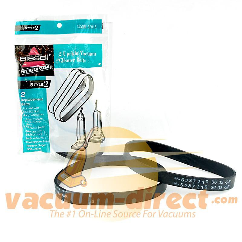 Bissell Genuine Style 2 Vacuum Cleaner Belt 2 Pack 19-3104-08