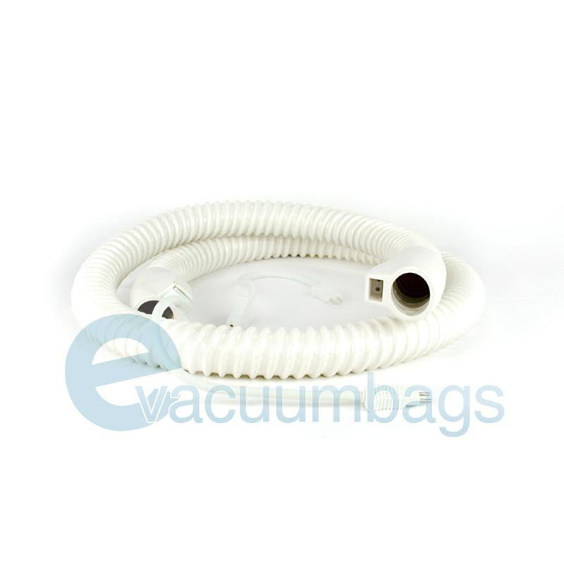 Fit All Electric White 6 Foot Vacuum Hose with Pigtails 1 pc.  32-1260-93 32-1260-93