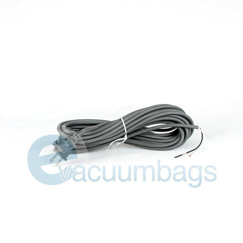 Fit All 30' 17-2 Wire Male Plug Vacuum Power Cord 1 pc.  32-5430-26 32-5430-26