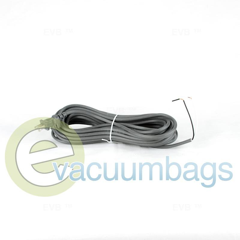Fit All 40' 17-2 Wire Male Plug Vacuum Power Cord 1 pc.  32-5432-25 32-5432-25