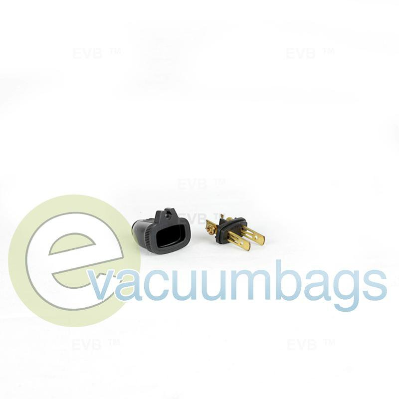 Fit All Male Grip 2 Wire Plug Black 1 pc.  32-5604-61 32-5604-61