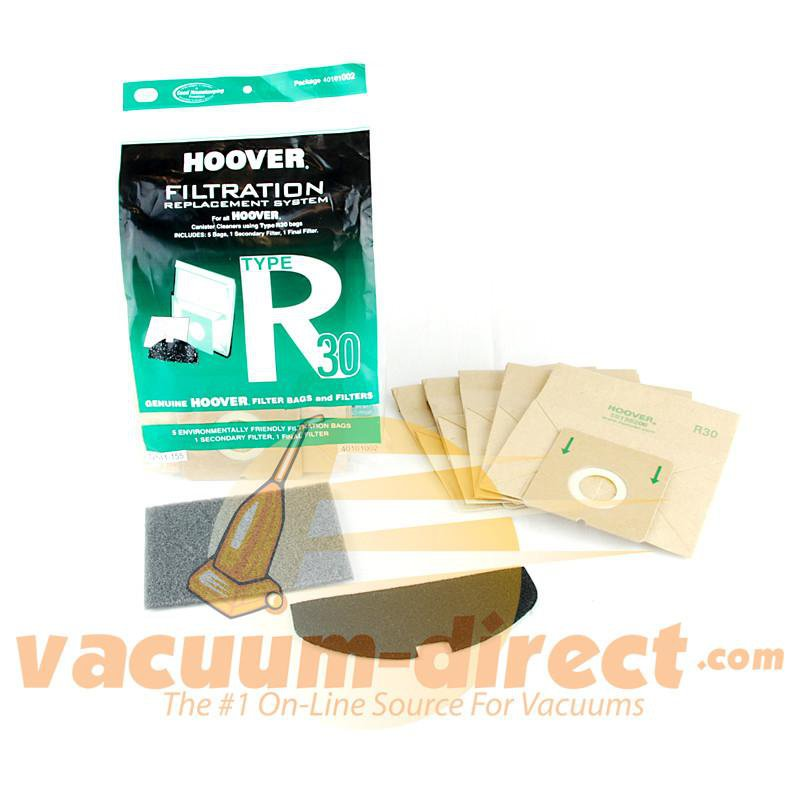 Hoover Type R30 Bag & Filter Set 5 Bags & 2 Filters 41-2442-06