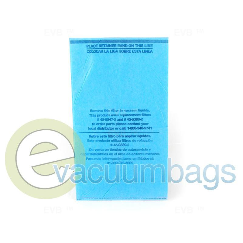 Koblenz WD-330 Wet Dry 3 Gallon Power Vac Vacuum Bag 1 pc.  08-1851-8 51-2445-07