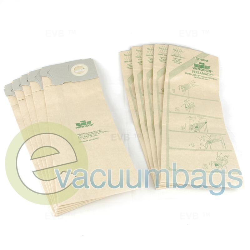 Windsor Versamatic Paper Vacuum Bags 10 Pack  53-2400-08 53-2400-08