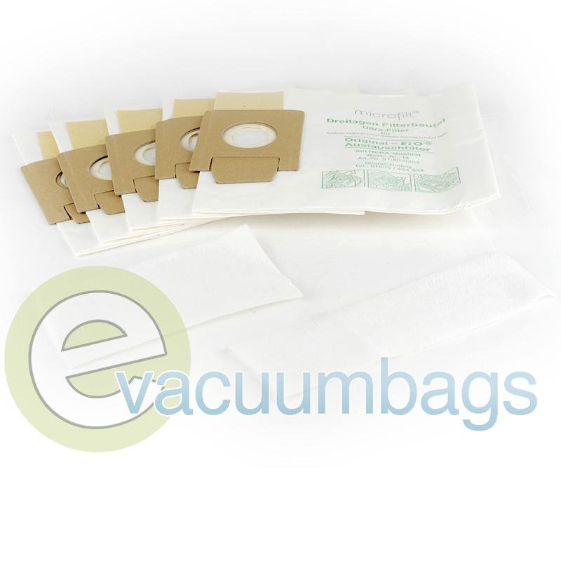 Fit All EIO Canister Paper Vacuum Bags 5 Pack  55-2415-09 55-2415-09