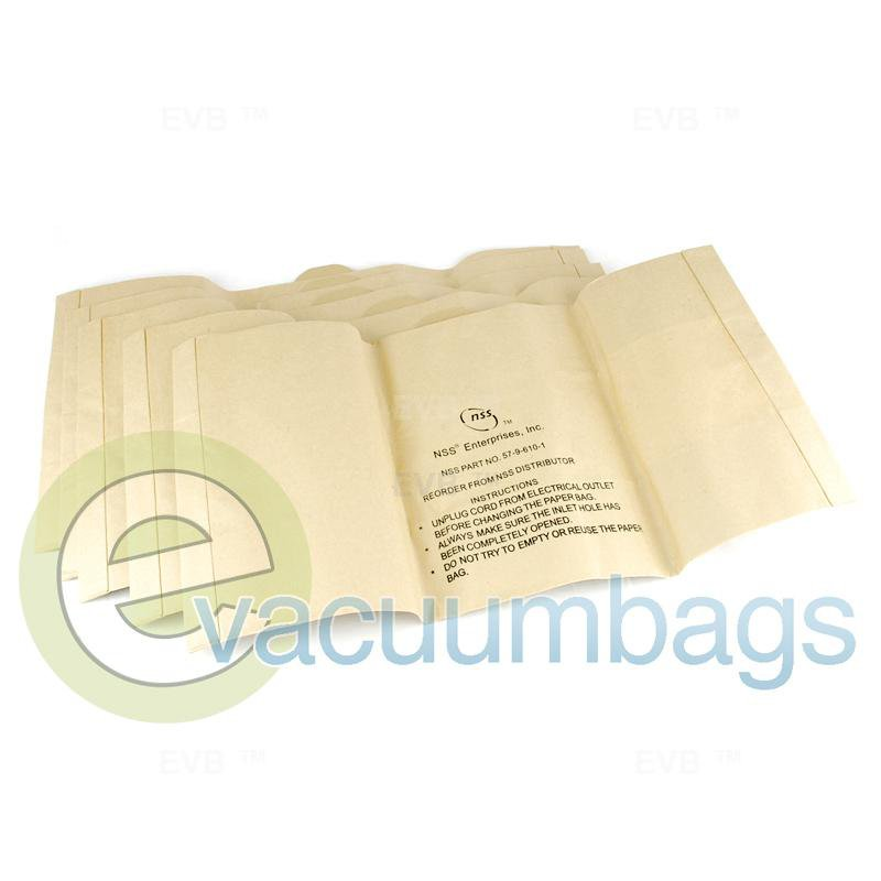 NSS Charger 2025AB 2025DB Paper Vacuum Bags 5 Pack  5796101 5796101