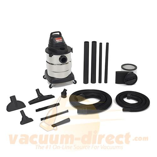 Shop-Vac 6 Gallon Industrial Economy Wet/Dry Vacuum 4.5 Peak HP 6000110