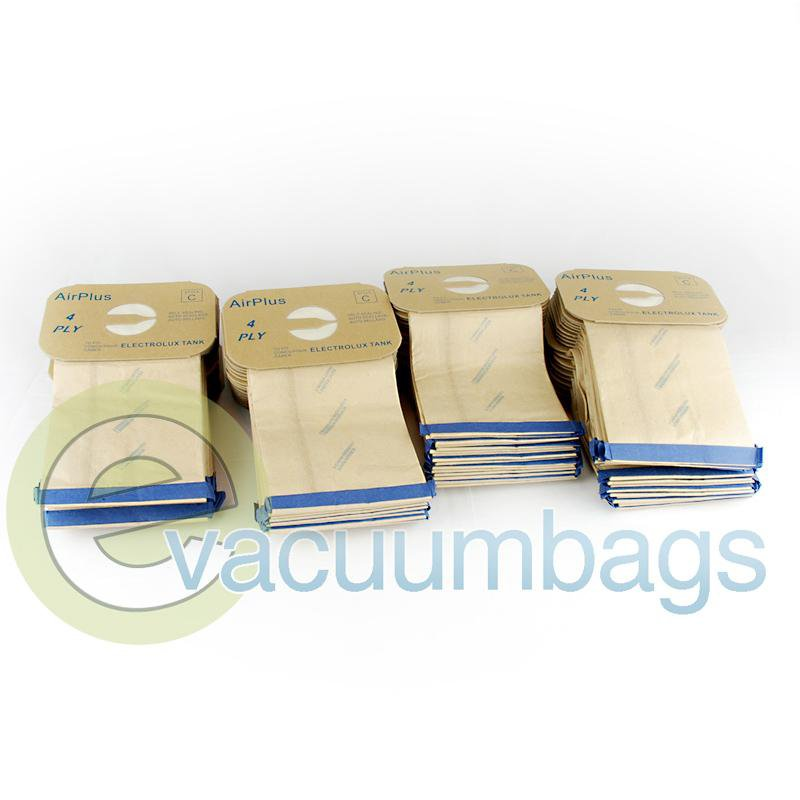 Electrolux Style C Canister Micro Filtration Paper Vacuum Bags by EnviroCare 100 Pack  805FPC EXR-14155