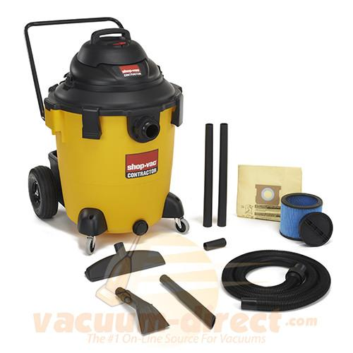 Shop-Vac 32 Gallon Right Stuff Wet/Dry Vacuum w/ Handle & Wheels 6.5 Peak HP 9626810