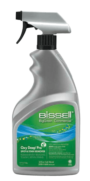 Bissell Commercial Oxy Deep Pro Spot Carpet & Upholstery Stain Remover 97W7