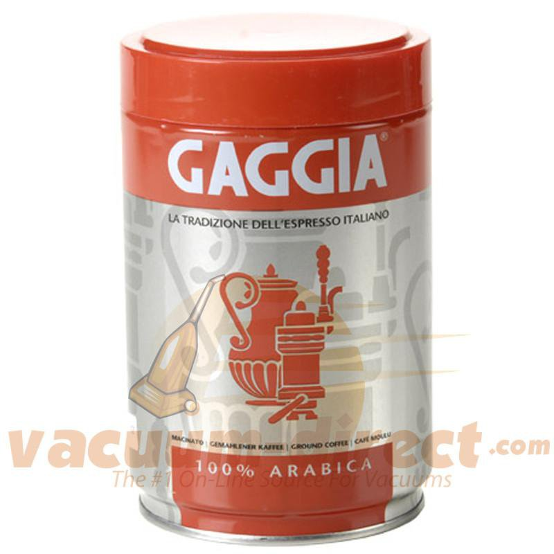 Gaggia Arabica Whole Bean Can of Coffee GAWBARABICA