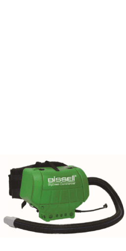 Bissell BigGreen Commercial 6 quart High Filtration HipVac