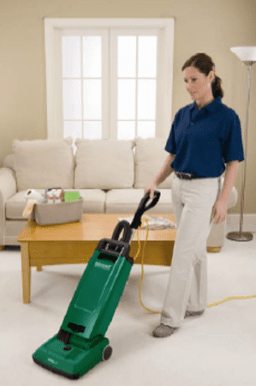 "Bissell BigGreen Commercial 12"" Heavy Duty Upright Vacuum BGUPRO12T"