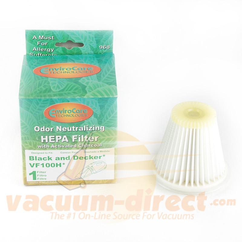 Black and Decker Generic HEPA Vacuum Filter by EnviroCare Replaces VF100H  968 56-2325-07