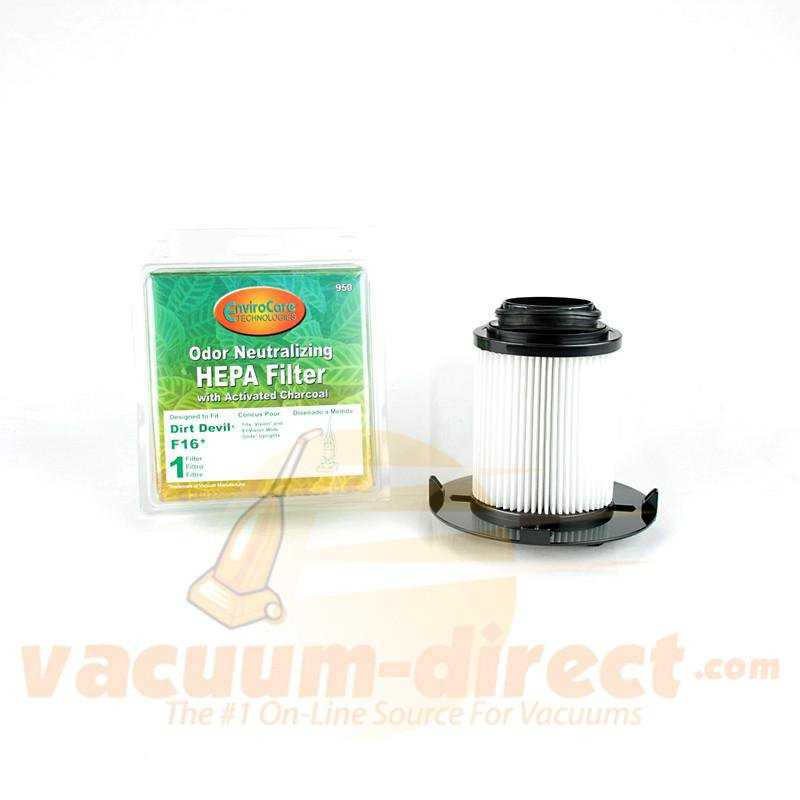 Dirt Devil F16 Generic HEPA Filter by EnviroCare  950 80-2320-02