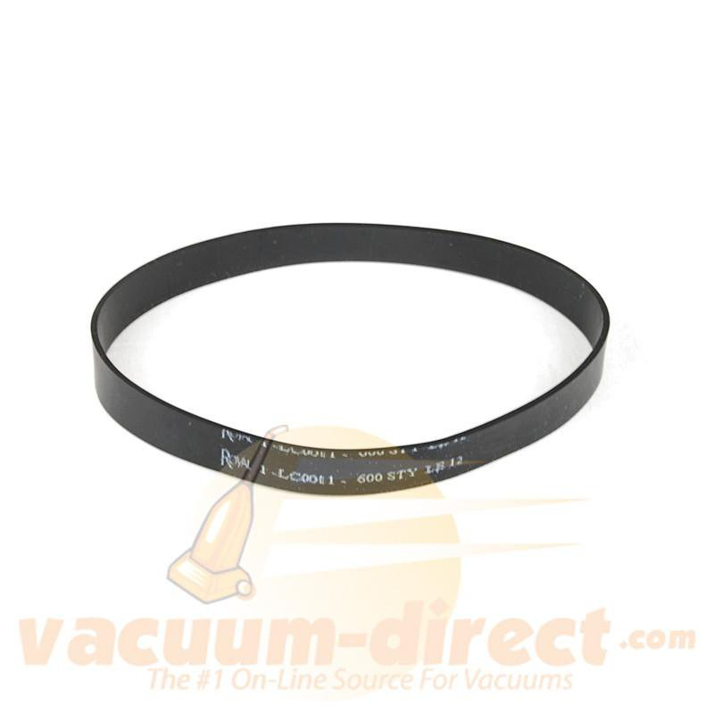 Dirt Devil Style 12 Flat Vacuum Belt for Platinum Force & Vision Uprights 1 pc 81-3136-08