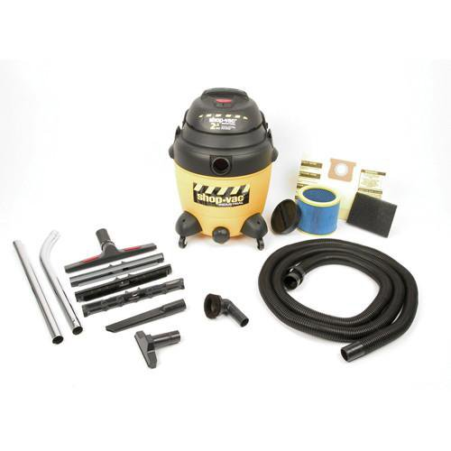 Shop-Vac 12 Gallon Industrial Multi-Purpose Wet/Dry Vacuum Cleaners 2.5 Peak HP 9622110