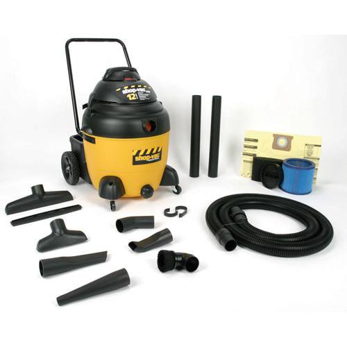 Shop-Vac 18 Gallon Industrial Wet/Dry Vacuums w/ Switch Reluctance Motor - 12 Amp
