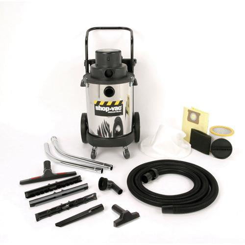 Shop-Vac 10 Gallon Stainless Steel Industrial Heavy-Duty Wet/Dry Vacuum - 3.0 Peak HP