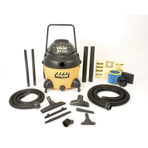 Shop-Vac DC16 Gallon Industrial Multi-Purpose Wet/Dry Vacuum 2.5 Peak HP 9623910