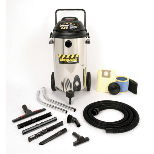 Shop-Vac 20 Gallon Stainless Steel Industrial Multi-Purpose Wet/Dry Vacuum 2.5 Peak HP 9624910
