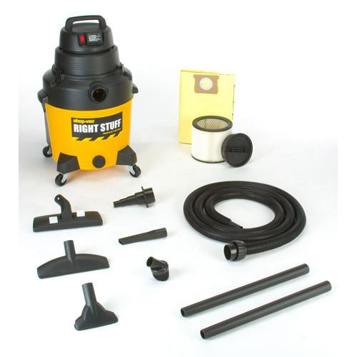 "Shop-Vac 12 Gallon Industrial ""Super Quiet"" General Purpose Wet/Dry Vacuum On Demand 9256310"
