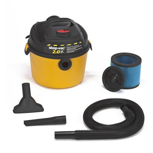 Shop-Vac 2.5 Gallon Right Stuff Wet/Dry Vacuum - 2.0 Peak HP