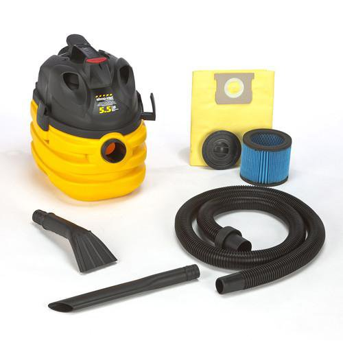 Shop-Vac Portable 5 Gallon Right Stuff Wet/Dry Vacuum - 5.5 Peak HP