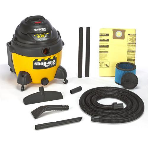 Shop-Vac DC16 Gallon Right Stuff Wet/Dry Vacuum 6.25 Peak HP 9625210
