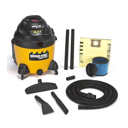 Shop-Vac DC18 Gallon Right Stuff Wet/Dry Vacuum 6.5 Peak HP 9625310