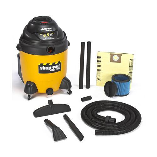 Shop-Vac DC22 Gallon Right Stuff Wet/Dry Vacuum 6.5 Peak HP 9625410