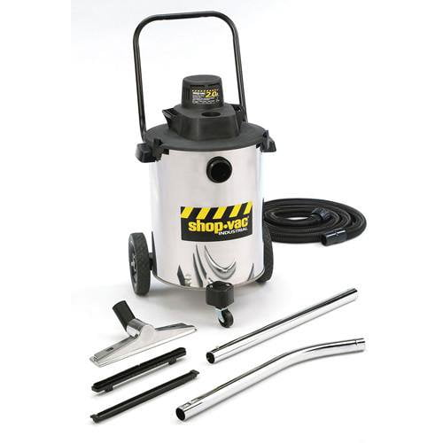Shop-Vac 10 Gallon Stainless Steel Contractor Duty Wet/Dry Vacuum 2.0 Peak HP 6105010