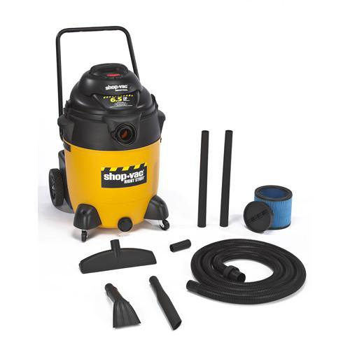 Shop-Vac 24 Gallon Right Stuff Wet/Dry Vacuum w/ Handle & Wheels 6.5 Peak HP 9626010