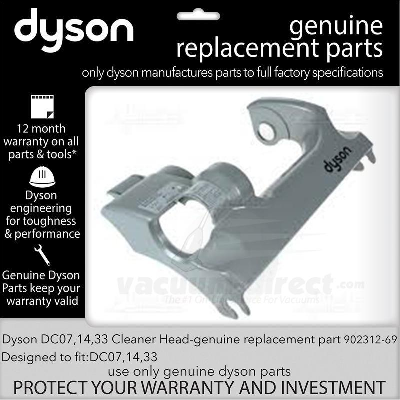 Dyson DC07 DC14 DC33 Cleaner Head 902312-69