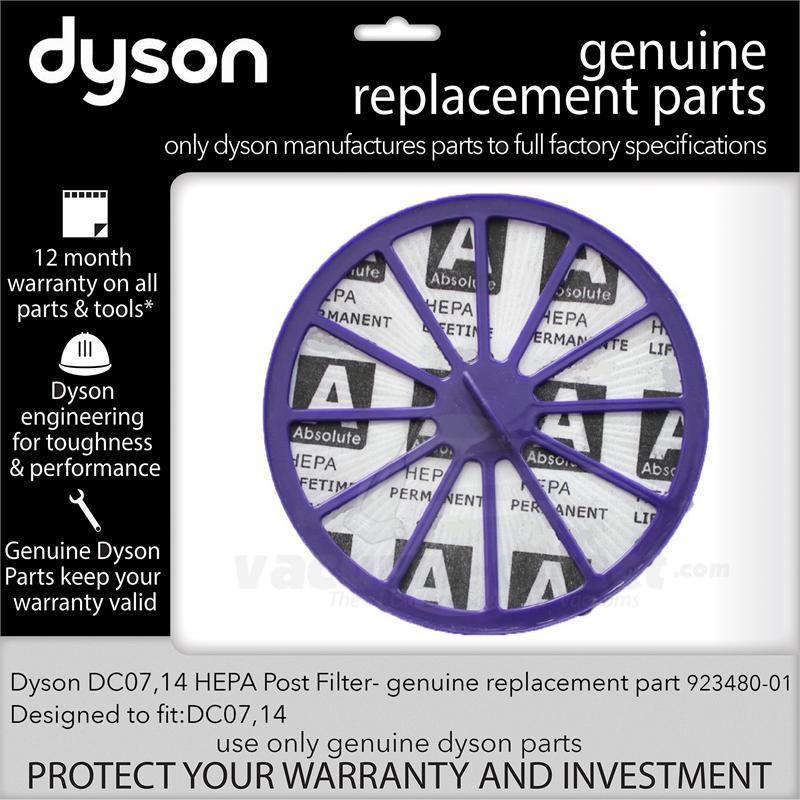 Dyson DC07 DC14 HEPA Post Filter 923480-01